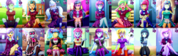Size: 6480x2048 | Tagged: adorasexy, angry, annoyed, artist:the-butch-x, ball, balloon, bare shoulders, bench, big grin, blueberry cake, blushing, boots, bracelet, breasts, butch's hello, butt freckles, canterlot high, choker, cleavage, clothes, cloudy kicks, collage, coloratura, commission, compilation, concession stand, confused, covering, crossed arms, crossed legs, crystal lullaby, crystal prep academy uniform, cute, derpibooru, derpibooru exclusive, dress, ear piercing, earring, edit, equestria girls, eyes closed, female, fleur-de-lis, football, freckles, friendship games, frown, glasses, goggles, grin, grumpy, happy, headphones, hello x, high heels, human, indigo zap, jewelry, juniper montage, juxtaposition, kneesocks, leggings, legs, lemon zest, library, lidded eyes, looking at you, madorable, meta, miniskirt, mirror magic, miss fleur is trying to seduce us, moe, motion blur, movie magic, mysterybetes, mystery mint, nail polish, nervous, off shoulder, one eye closed, open mouth, pants, pantyhose, part of a set, peace sign, pen, photo finish, piercing, pigtails, pixel pizazz, plaid skirt, pleated skirt, ponytail, pouting, question mark, rainbow rocks, rarabetes, safe, scarf, school uniform, schrödinger's pantsu, scrunchy face, sexy, shadow five, shoes, shorts, signature, sitting, skirt, skirt lift, smiling, socks, sour seat, sour sweet, sour sweet is not amused, spoiler:eqg specials, sports, strategically covered, stupid sexy fleur-de-lis, sugarcoat, sunglasses, sunny flare, sweat, theater, the snapshots, thigh highs, thighs, tsunderecoat, twintails, unamused, uniform, upper crust, upskirt denied, violet blurr, wall of tags, waving, wink, wristband, zestabetes