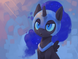 Size: 1100x830 | Tagged: artist:rodrigues404, cute, female, filly, nightmare moon, nightmare woon, pony, safe