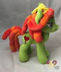 Size: 900x1057 | Tagged: safe, artist:ketika, tree hugger, pony, irl, photo, plushie, solo