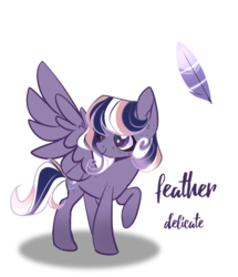 Size: 564x655 | Tagged: artist:iheyyasyfox, female, mare, oc, oc:feather delicate, offspring, parent:flash sentry, parents:flashlight, parent:twilight sparkle, pegasus, pony, safe, simple background, solo, transparent background