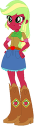 Size: 154x566 | Tagged: safe, artist:durpy, artist:ra1nb0wk1tty, artist:user15432, applejack, applejack (g3), human, equestria girls, barely eqg related, base used, boots, clothes, equestria girls style, equestria girls-ified, g3, g3 to equestria girls, g3 to g4, generation leap, hasbro, hasbro studios, shoes