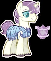 Size: 718x852   Tagged: safe, artist:jxst-alexa, oc, pony, unicorn, male, offspring, parent:fluttershy, parent:shining armor, parents:flutterarmor, simple background, solo, stallion, transparent background