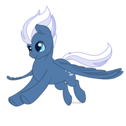 Size: 700x700 | Tagged: safe, artist:darkodraco, night glider, pegasus, pony, female, flying, mare, simple background, smiling, solo, spread wings, transparent background, underhoof, wings