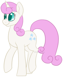 Size: 818x1000 | Tagged: safe, artist:darkodraco, twinkleshine, pony, unicorn, female, mare, raised hoof, simple background, smiling, solo, transparent background