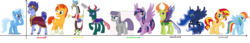 Size: 6840x1176 | Tagged: alicorn, artist:feuerwelle, changedling, changeling, discord, female, hoo'far, king thorax, lesbian, luxie, male, maud pie, mauxie, phartrix, pharynx, prince pharynx, princess luna, rainbow dash, safe, shipping, straight, sunset shimmer, suntrix, thorax, thoraxie, trixburst, trixcord, trixdash, trixfar, trixie, twilight sparkle, twilight sparkle (alicorn), twixie