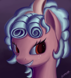 Size: 2000x2200 | Tagged: artist:theunconsistentone, cozy glow, evil, evil grin, grin, headshots, pegasus, pony, safe, smiling