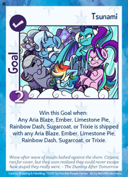 Size: 788x1088 | Tagged: aria blaze, artist:befishproductions, artist:ithryskylark, cute, equestria girls, equestria girls ponified, limestone pie, limetsun pie, ponified, pony, princess ember, rainbow dash, safe, sugarcoat, :t, trixie, tsundaria, tsundember, tsunderainbow, tsundere, tsunderecoat, tsunderixie, twilight sparkle's secret shipfic folder