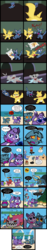 Size: 2000x10738 | Tagged: angry sun, artist:magerblutooth, banjo kazooie, bigbutt, cat, catified, comic, comic:diamond and dazzle, diamond tiara, fat, imp, lakitu, mario, megaman, mouse, mouse hole, oc, oc:dazzle, oc:il, oc:peal, palossand, pillow, poison mushroom, safe, sand castle, species swap, spikes, splash woman, undertale, video game, weight gain, woshua