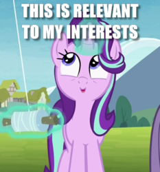 Size: 408x437 | Tagged: caption, cute, edit, edited screencap, glimmerbetes, image macro, kite, kite flying, pony, rock solid friendship, safe, screencap, solo focus, starlight glimmer, that pony sure does love kites, unicorn