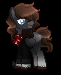Size: 1597x1969 | Tagged: safe, artist:sugaryicecreammlp, oc, oc:robin, pegasus, pony, clothes, male, simple background, solo, stallion, transparent background