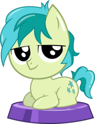 Size: 2259x2947 | Tagged: artist:phucknuckl, cute, earth pony, male, my little pocket ponies, part of a set, pony, safe, sandabetes, sandbar, season 8, simple background, solo, stallion, transparent background