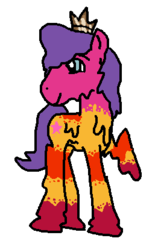 Size: 262x415 | Tagged: safe, artist:thunderzizi, goo pony, original species, pony, spoiler:the lego movie 2: the second part, crossover, lego, ponified, queen watevra wa-nabi, simple background, solo, spoilers for another series, the lego movie, the lego movie 2: the second part, transparent background