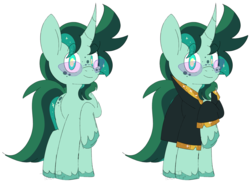Size: 3720x2721 | Tagged: safe, artist:taaffeiite, derpibooru exclusive, oc, oc only, pony, unicorn, clothes, commission, curved horn, freckles, glasses, horn, lightly watermarked, looking at you, male, photo, raised hoof, sparkles, stallion, toy, unshorn fetlocks, watermark
