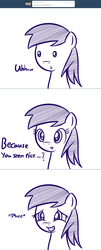 Size: 1280x3180 | Tagged: artist:datahmedz, ask, monochrome, pony, raindropsanswers, safe, solo, squee, sunshower raindrops, tumblr