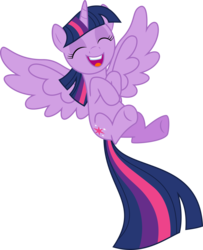 Size: 2048x2522 | Tagged: alicorn, artist:jp, cute, derpibooru exclusive, eyes closed, happy, laughing, pony, safe, simple background, solo, svg, .svg available, transparent background, twiabetes, twilight sparkle, twilight sparkle (alicorn), vector