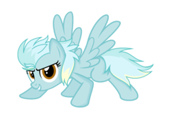 Size: 1174x819 | Tagged: artist:sapphireartemis, female, mare, oc, oc:cool sky-speed, offspring, parent:fleetfoot, parent:lightning streak, pegasus, safe, simple background, solo, transparent background