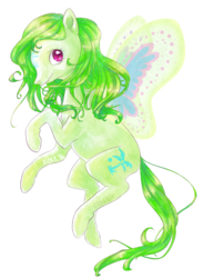 Size: 600x776 | Tagged: artist:alukelele, cool breeze, flutter pony, g1, safe, simple background, solo, transparent background