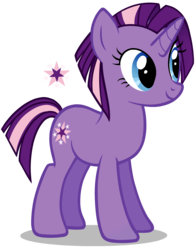 Size: 2817x3606 | Tagged: artist:galaxyemotion, base used, female, mare, oc, oc:starlet, offspring, parent:star tracker, parents:twitracker, parent:twilight sparkle, pony, safe, simple background, solo, transparent background, unicorn
