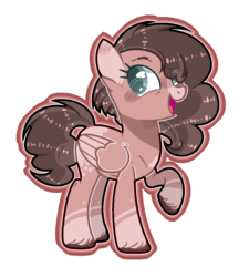 Size: 980x1090 | Tagged: safe, artist:jxst-alexa, oc, pegasus, pony, female, magical lesbian spawn, mare, offspring, parent:pear butter, parent:windy whistles, parents:windybutter, simple background, solo, transparent background