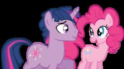 Size: 1317x738   Tagged: safe, artist:kayman13, pinkie pie, twilight sparkle, pony, dusk shine, duskpie, female, half r63 shipping, male, rule 63, shipping, straight, twinkie