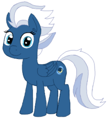 Size: 283x318 | Tagged: safe, artist:wafflecakes, night glider, pegasus, pony, cute, ear fluff, female, glideabetes, mare, simple background, solo, transparent background