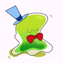 Size: 1280x1280 | Tagged: artist:turtlefarminguy, bowtie, cute, hat, heart, make new friends but keep discord, male, pony, safe, simple background, smooze, solo, top hat, white background