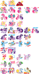 Size: 1295x2464 | Tagged: safe, ace, ace point, angel bunny, apple bloom, applejack, fluttershy, pinkie pie, princess cadance, princess celestia, rainbow dash, rarity, scootaloo, spike, sweetie belle, twilight sparkle, alicorn, official, apple, big crown thingy, book, cake, cart, clothes, coronation dress, crying, cutie mark crusaders, dress, flag, flying, food, football, hair curlers, heart, jewelry, mailbox, mud mask, official art, oven mitts, present, regalia, simple background, sleeping, sports, sticker, sticker set, stock image, tennis, tennis racket, transparent background, twilight sparkle (alicorn)