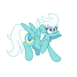 Size: 1280x1280 | Tagged: artist:turtlefarminguy, cute, diafleetes, female, fleetfoot, mare, pegasus, pony, safe, simple background, solo, white background