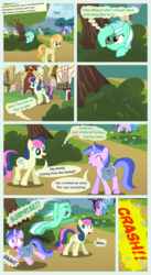 Size: 5100x9300 | Tagged: absurd res, artist:cheezedoodle96, artist:laberoon, artist:mundschenk85, background pony, big macintosh, bon bon, coconut cream, comic, comic:all in good fun, crescent moon, crescent pony, derpy hooves, earth pony, female, filly, junebug, kite, lyra heartstrings, male, mane moon, mare, moon, pegasus, pony, saddle bag, safe, seafoam, sea swirl, stallion, starlight glimmer, sweetie drops, that pony sure does love kites, toola roola, trixie, unicorn, vector