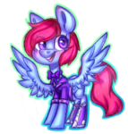 Size: 1024x1076 | Tagged: safe, artist:pinipy, commission, cute, female, fullbody, shading, simple background, sketchy, solo, transparent background