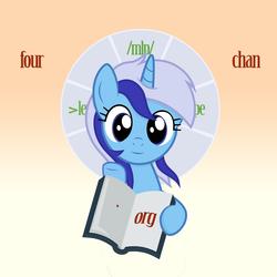 Size: 1622x1622 | Tagged: safe, artist:ramprover, edit, edited screencap, screencap, minuette, pony, 4chan, religion
