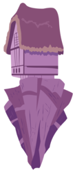 Size: 1828x4209 | Tagged: safe, artist:qtmarx, .ai available, building, chaos, chaos is magic, floating island, house, no pony, simple background, transparent background, vector