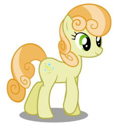 Size: 4200x4500 | Tagged: safe, artist:mundschenk85, junebug, earth pony, pony, comic:all in good fun, absurd resolution, background pony, female, mare, simple background, solo, transparent background, vector