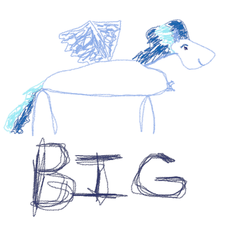 Size: 1000x1000 | Tagged: all caps, artist:best at art, bare chest, big, caption, chest fluff, male, oc, oc only, oc:umami stale, pegasus, pony, safe, simple background, smiling, solo, spread wings, stallion, stick figure, stick pony, text, two toned mane, white background, wings