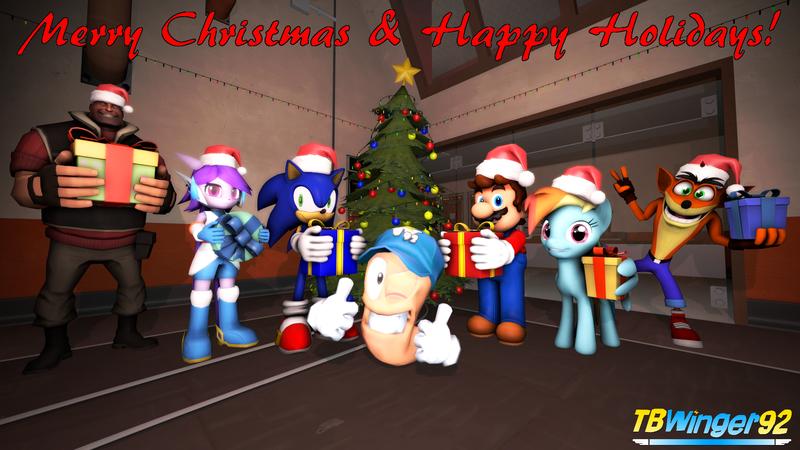 Crash Bandicoot Christmas.1931066 2017 3d Artist Tbwinger92 Christmas Christmas