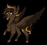 Size: 2223x2171 | Tagged: safe, artist:australian-senior, oc, oc only, oc:umber nova, pegasus, pony, solo