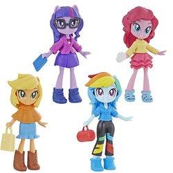 Size: 500x500   Tagged: safe, applejack, pinkie pie, rainbow dash, sci-twi, twilight sparkle, equestria girls, equestria girls series, bag, doll, equestria girls minis, female, irl, photo, toy