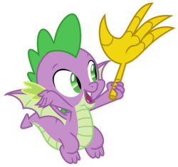 Size: 2125x2000 | Tagged: artist:sketchmcreations, claws, disembodied hand, dragon, flying, hand, implied discord, male, open mouth, safe, simple background, spike, spoiler:s09e23, the big mac question, transparent background, vector, winged spike