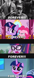 Size: 1275x2867 | Tagged: alicorn, comic, crown, edit, edited screencap, equestria girls, equestria girls series, eye reflection, forever, friendship math, green isn't your color, hard-won helm of the sibling supreme, pinkie pie, reflection, safe, sci-twi, screencap, screencap comic, sparkle's seven, spoiler:s09e04, the sandlot, twilight sparkle, twilight sparkle (alicorn), unicorn, unicorn twilight