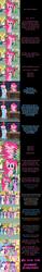 Size: 2000x12919 | Tagged: safe, artist:mlp-silver-quill, artist:undead-niklos, applejack, pinkie pie, rainbow dash, rarity, spike, twilight sparkle, wind whistler, alicorn, earth pony, pegasus, pony, unicorn, comic:pinkie pie says goodnight, comic, eyes closed, twilight sparkle (alicorn)