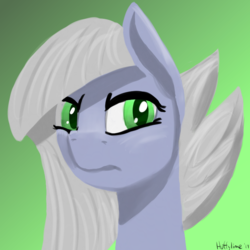 Size: 705x705 | Tagged: artist:huffylime, bust, earth pony, limestone pie, pony, portrait, safe, solo