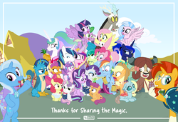 Size: 1755x1200 | Tagged: alicorn, apple bloom, applejack, artist:dm29, changedling, changeling, cutie mark crusaders, discord, draconequus, dragon, earth pony, end of ponies, female, filly, fluttershy, gallus, griffon, hippogriff, male, mane six, mare, ocellus, pegasus, pinkie pie, pony, princess cadance, princess celestia, princess flurry heart, princess luna, rainbow dash, rarity, royal sisters, sad, safe, sandbar, scootaloo, shining armor, silverstream, smolder, spike, stallion, starlight glimmer, student six, sunburst, sweetie belle, trixie, twilight sparkle, unicorn, yak, yona