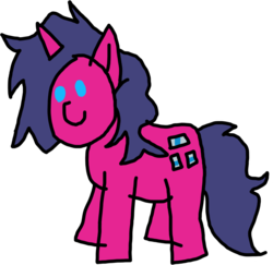 Size: 1398x1358 | Tagged: safe, artist:sparks the griffon, oc, oc only, oc:fizzy pop, pony, unicorn, female, mare, simple background, solo, transparent background