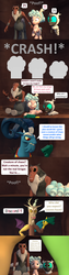 Size: 1920x7560 | Tagged: safe, artist:red4567, cozy glow, discord, grogar, lord tirek, queen chrysalis, changeling, changeling larva, the ending of the end, spoiler:s09e24, spoiler:s09e25, 3d, age regression, baby changeling, comic, framed by legs, grogar's bell, how it should have ended, source filmmaker, wing removal