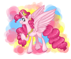 Size: 1200x1000 | Tagged: alicorn, alicornified, female, mare, pinkiecorn, pinkie pie, pony, race swap, safe, solo, xk-class end-of-the-world scenario