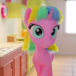 Size: 1080x1089 | Tagged: 3d, artist:gabe2252, blender, cycles, female, mare, oc, oc:constant time, safe, unicorn