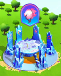Size: 372x462 | Tagged: safe, idw, nightmare knights, spoiler:comic, cutie map, gameloft, limited-time story, the anonymous campsite
