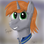 Size: 1600x1600 | Tagged: artist:kalashnikitty, boopable, bust, clothes, cute, fallout equestria, fanfic, fanfic art, female, grin, horn, mare, oc, oc:littlepip, oc only, pipbuck, pony, portrait, safe, smiling, solo, squee, unicorn, vault suit