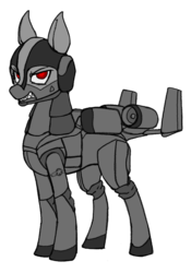 Size: 896x1280 | Tagged: safe, artist:andromailus, original species, plane pony, pony, a-10 thunderbolt ii, looking at you, plane, simple background, solo, transparent background