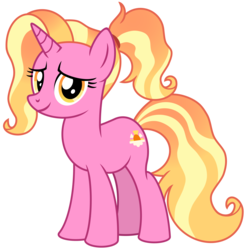 Size: 4813x4895 | Tagged: safe, luster dawn, pony, unicorn, the last problem, female, hooves, horn, lusterbetes, mare, simple background, smiling, solo, transparent background